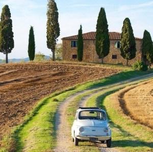 Italien-mit-Fiat-Toscana-Landgut-Toskana