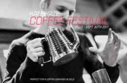 Kaffikaze Coffee Festival flyer