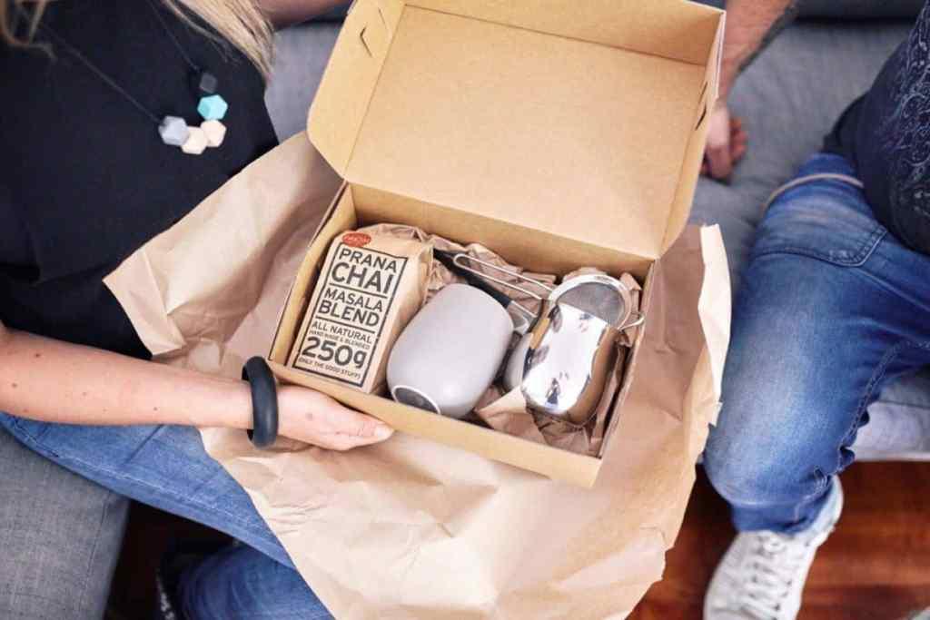 Prana Chai box delivery