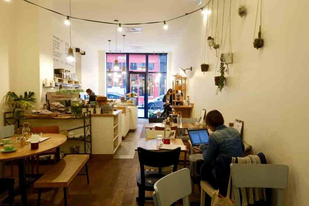 Interior of Les Cafetiers, Lyon