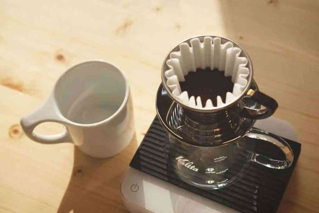 kalita brew at Orso Nero