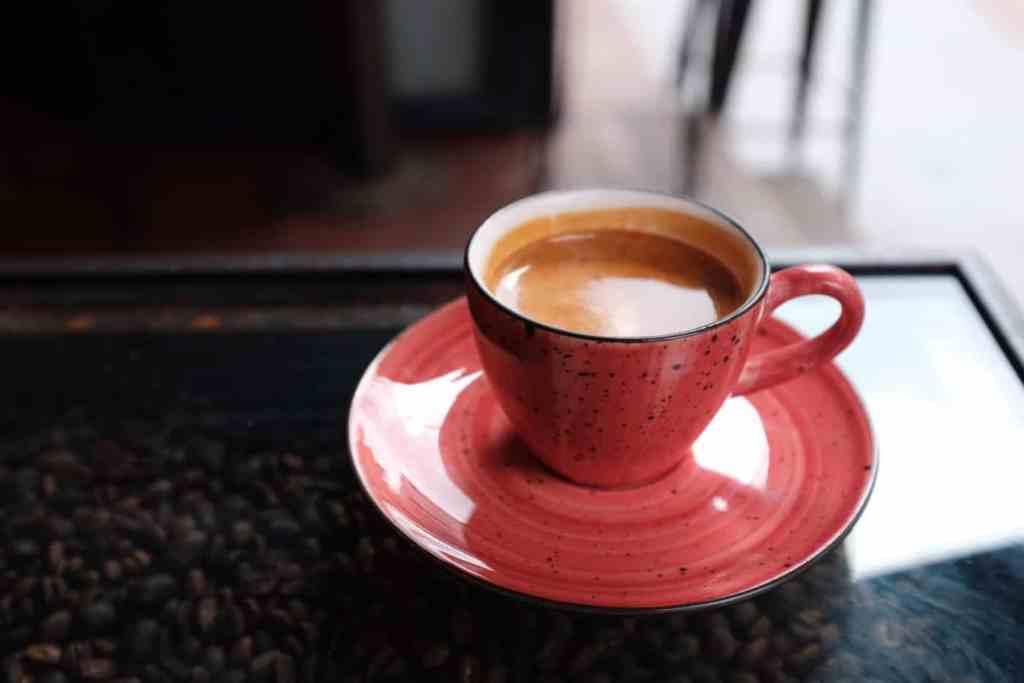 Adida, Ethiopian espresso at Rafine Espresso, Istanbul