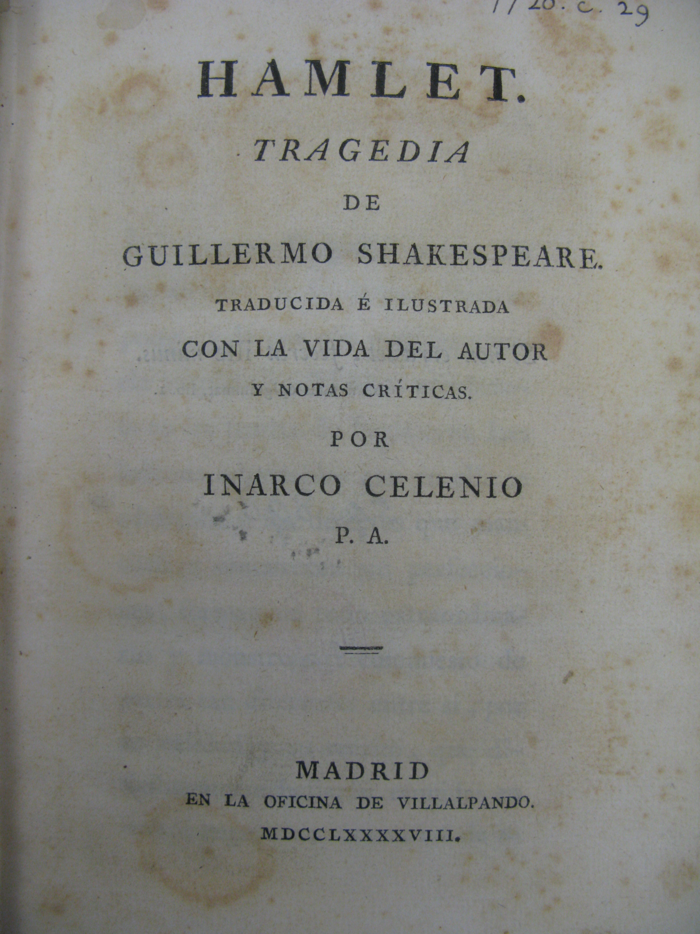 Shakespeare Translations In The Ul