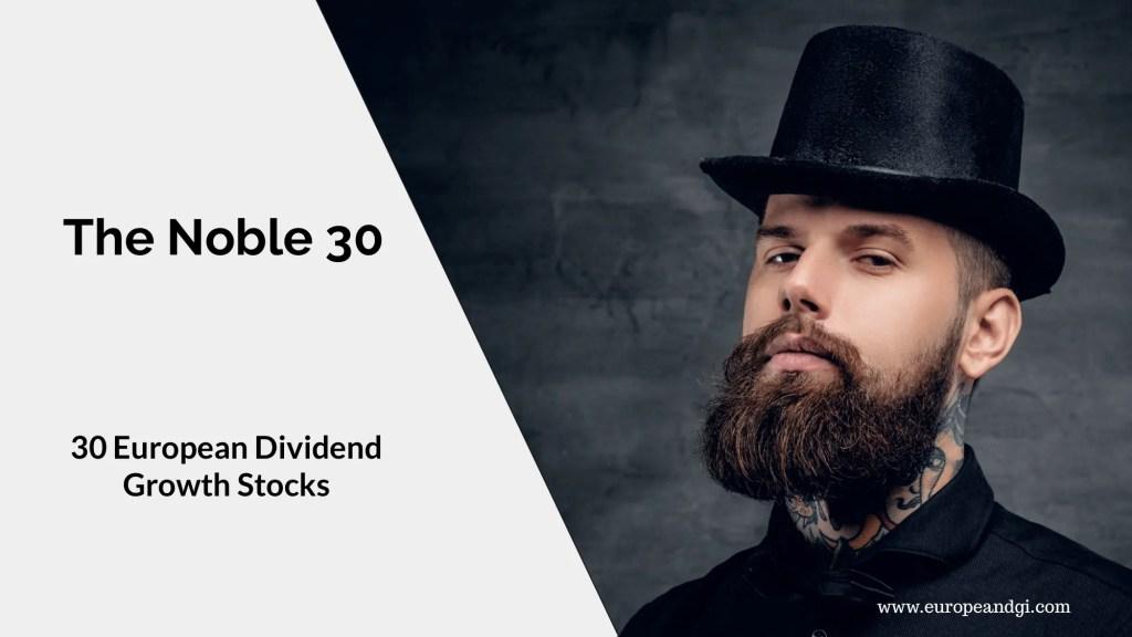 European Dividend Stocks