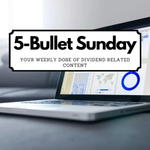 Read more about the article 5-Bullet Sunday – #43