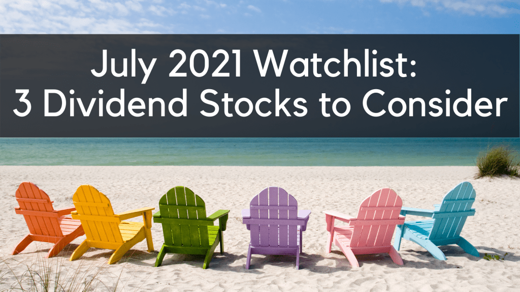 3 dividend stocks to consider