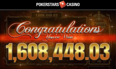 PokerStars Casino player becomes millionaire on Blueprint Gaming's Genie Jackpots