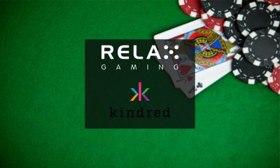 Relax Gaming agree extension to Kindred Group deal