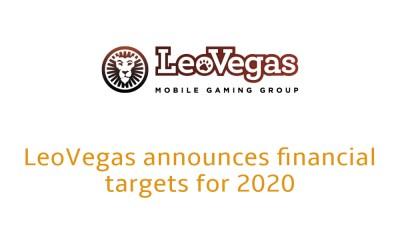 LeoVegas announces financial targets