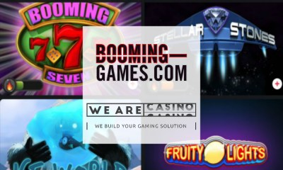 WeAreCasino signs with Booming Games