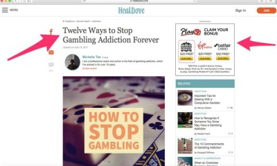 Internet gambling opponents are zeroing in on the industry's ads to try and shut it down