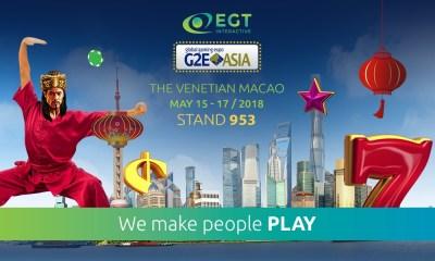 EGT at G2E Asia 2018