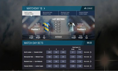 Leap Gaming Launches All-Out Football on SG Digital