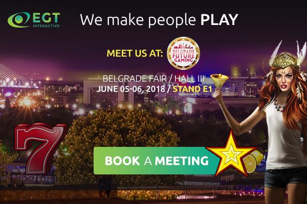 EGT Interactive @ Beograd Future Gaming Expo