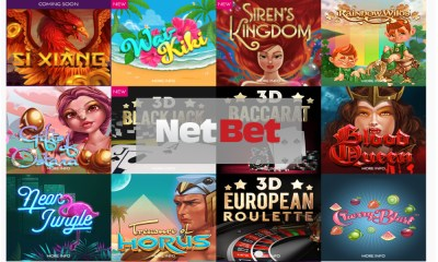 Iron Dog Studio games go live with NetBet