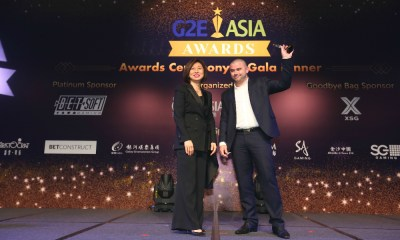 UltraPlay wins Best B2B Digital Product Solution at G2E Asia Awards 2018
