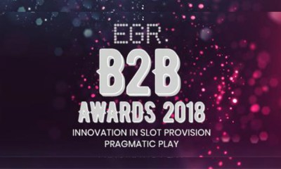 Pragmatic Play Cements Position As Top Provider With Prestigious EGR B2B Award