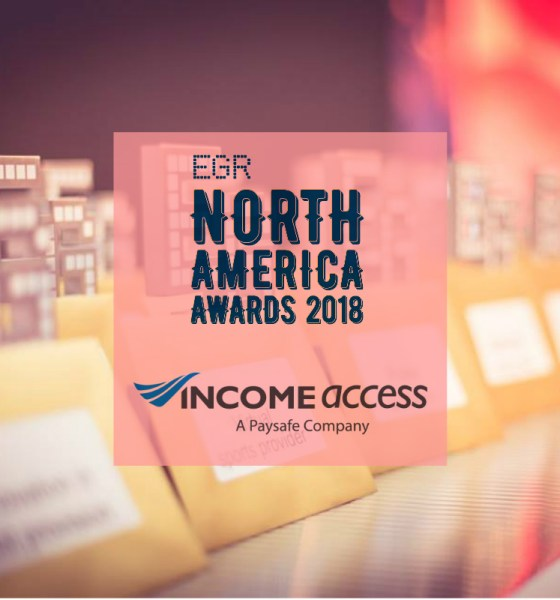 Income Access Wins 'Acquisition & Retention Partner' 2018 eGR North America Award