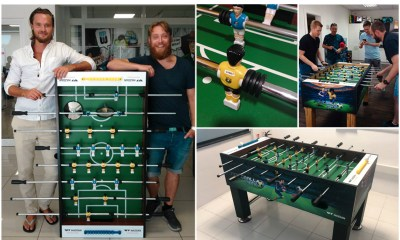 Wazdan surprises casino operators with Football Mania Deluxe table football deliveries for the World Cup