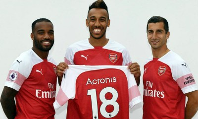 Acronis Announces Technology Partnership with Arsenal Football Club