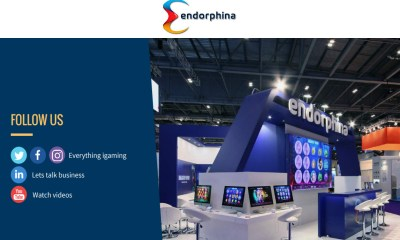 It will be raining money at Endorphina's stand at the Amsterdam Expo!