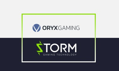 ORYX partners up with Storm Gaming Technology
