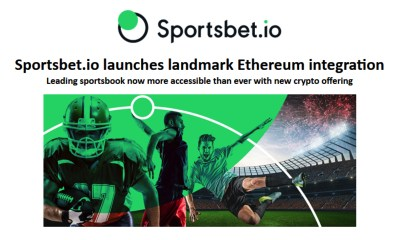 Sportsbet.io launches landmark Ethereum integration