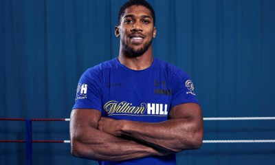 William Hill are delighted to welcome the unified world heavyweight champion of the world, Anthony Joshua OBE, to the camp