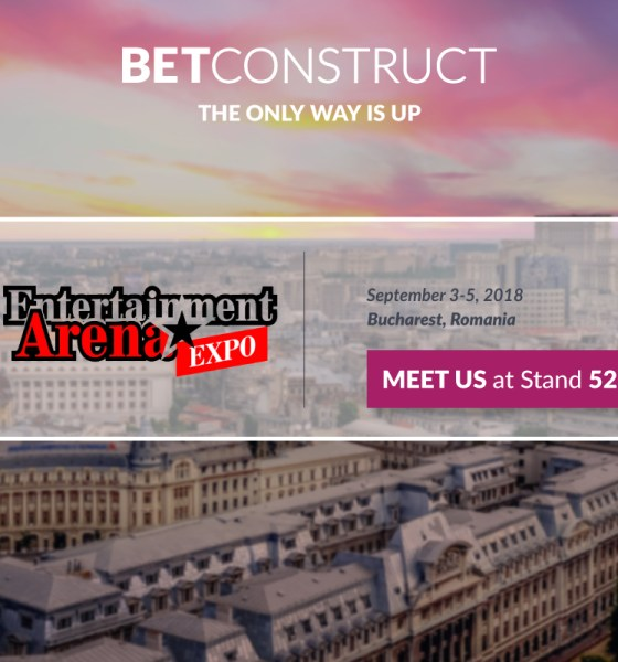 BetConstruct attends the Entertainment Arena Expo 2018