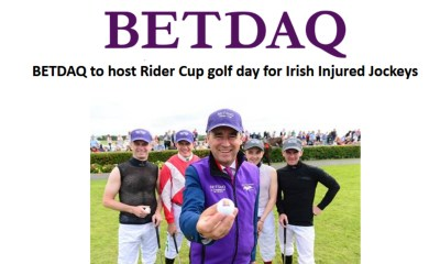 BETDAQ to host Rider Cup golf day for Irish Injured Jockeys