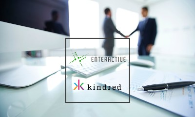 Enteractive signs partnership with Kindred Group