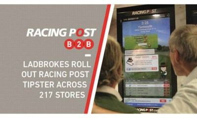 Ladbrokes roll out Racing Post Tipster content in 217 stores across Ireland