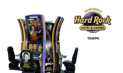 IGT's Blake Shelton Video Slots to Make World Debut At Seminole Hard Rock Hotel & Casino Tampa