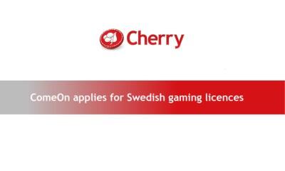 ComeOn applies for Swedish gaming licences