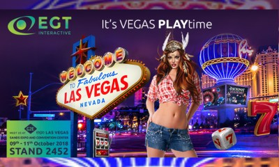 EGT Interactive at G2E Vegas