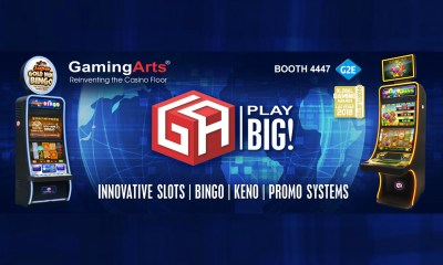 Gaming Arts to Showcase Exceptional Lineup of Innovative Slot, Bingo and Keno Products at G2E Las Vegas
