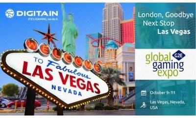 Goodbye London. Next Step Vegas: Meet Digitain at G2E