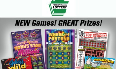 Over $168 Million in PA Lottery Scratch-Offs Prizes Claimed in August