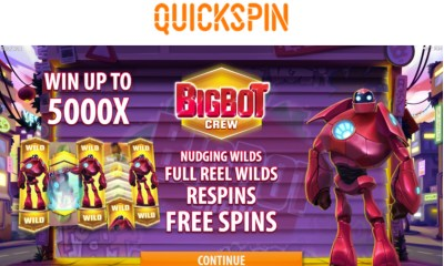 Quickspin transforms portfolio with Big Bot Crew