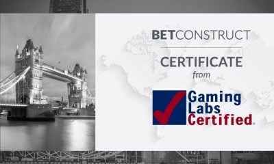 Live Casino of BetConstruct gets certification from GLI UK