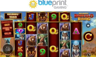 Buffalo Rising Megaways™ joins Blueprint Gaming's Jackpot King portfolio