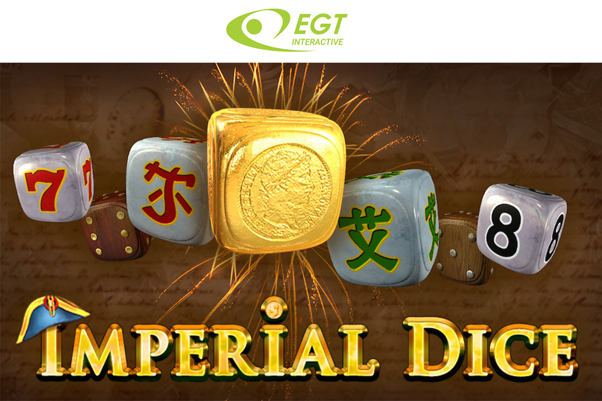 EGT Interactive - new game release in dice family
