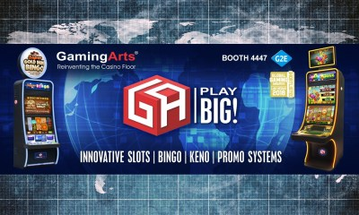"Growth and Innovation Key Focus of Gaming Arts ""Play BIG!"" Theme for G2E 2018"