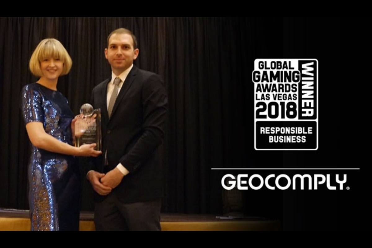 GeoComply Wins 2018 Global Gaming Award for Responsible Business of the Year