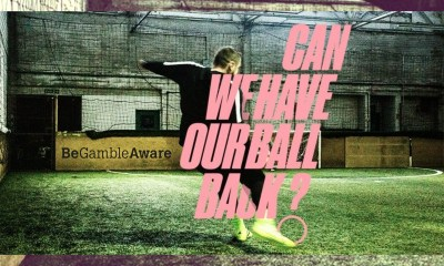 GambleAware initiates football-related online campaign, #CanWeHaveOurBallBack