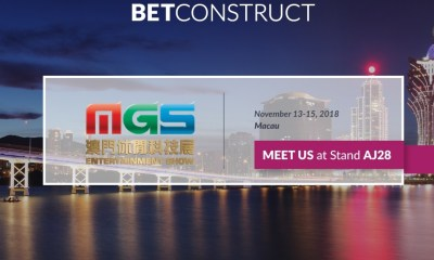 BetConstruct shares insights into its online casino setup at Macau Gaming Show