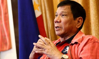Philippine president cautions police acting on casinos at Okada