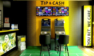 TIP & CASH launches self-service betting terminals