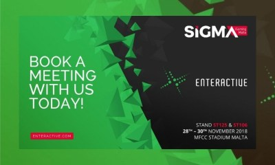 Enteractive set for its biggest SiGMA appearance