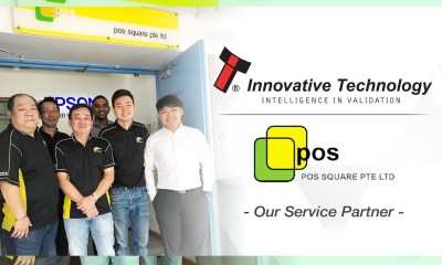 POS Square become Service Partner for Innovative Technology Asia Pacific